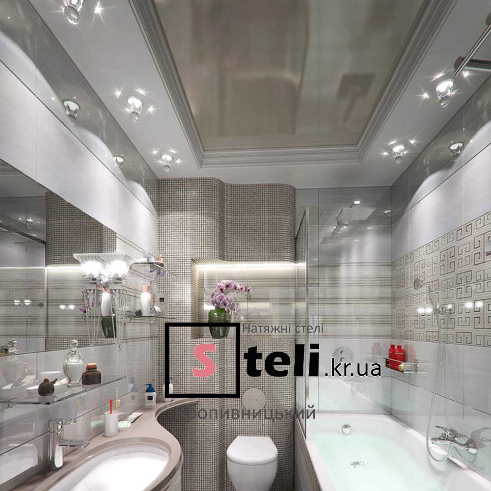 Натяжные потолки фото галерея кропивницкий ванная туалет