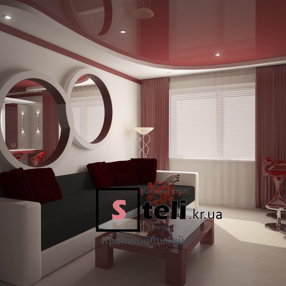 Натяжные потолки фото галерея кропивницкий красный
