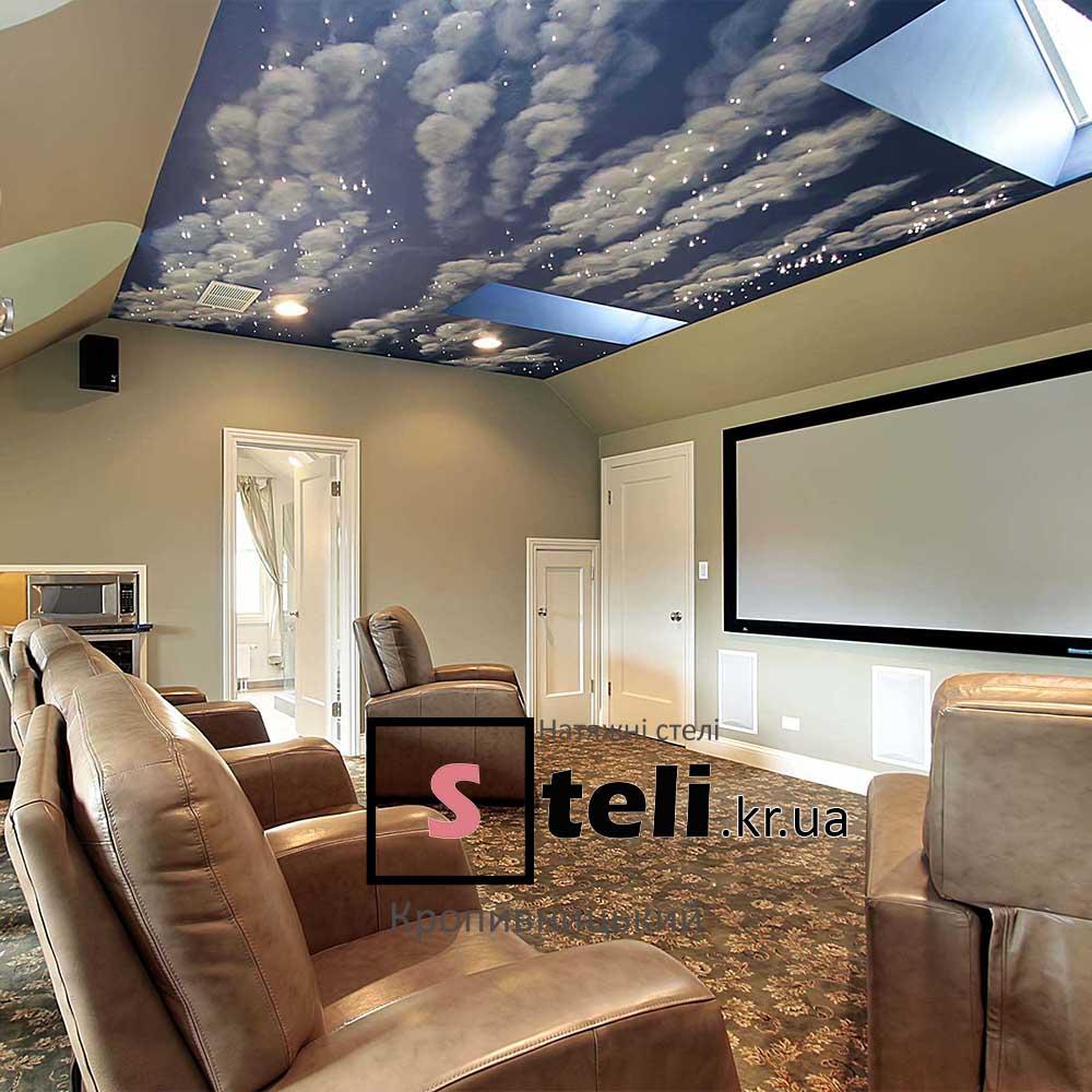 Натяжные потолки фото галерея кропивницкий небо