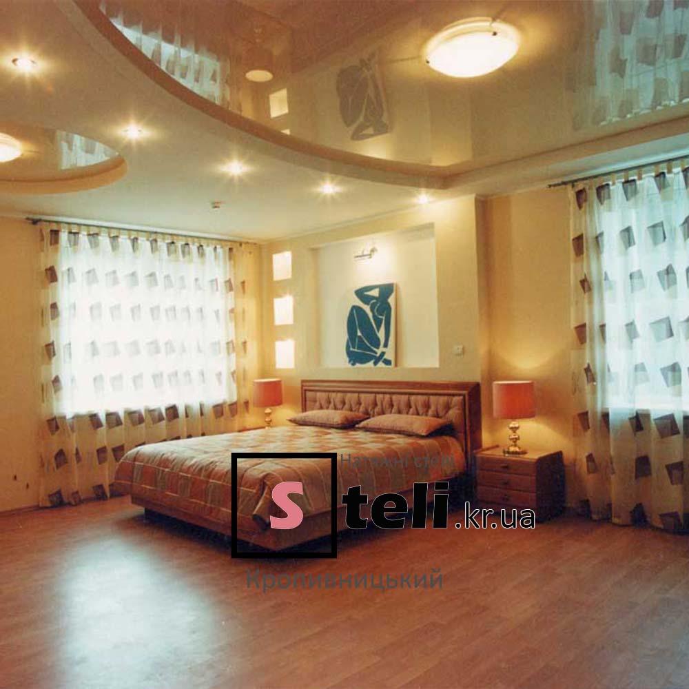 Двухуровневые натяжные потолки фото кропивницкий